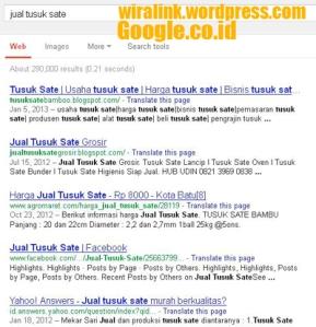 jual tusuk sate google.co.id