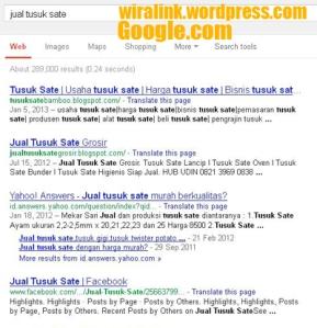 jual tusuk sate google.com