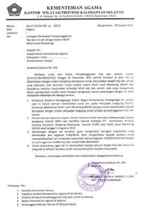 Departemen Agama RI : Larangan MLM Haji dan Umrah
