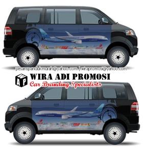 Car Branding Jakarta | Sticker Mobil Promosi APV