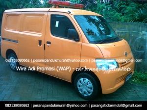 Branding Mobil Ambulance Kampanye Partai dan Caleg Pemilu 2014