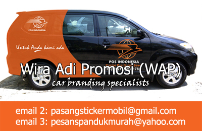 cutting sticker mobil branding xenia pt pos indonesia cutting