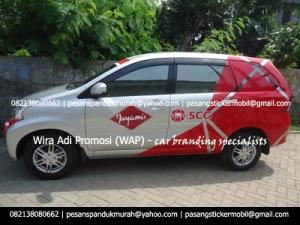 pesan cutting sticker mobil branding xenia