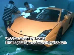 Car Wrapping Lamborghini Gallardo Jakarta